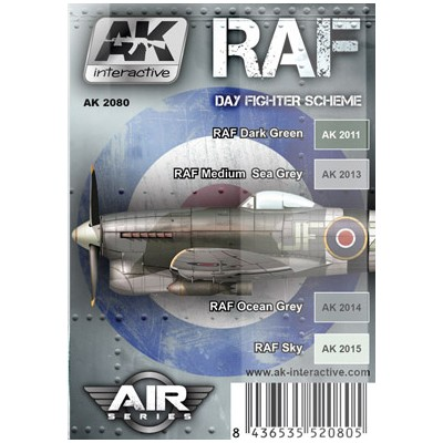 AIR series: R.A.F. Day Fighter Scheme (4 botes)