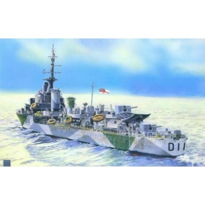 DESTRUCTOR BRITANICO HMS IMPULSIVE WWII - ESCALA 1/500 - MISTERCRAFT 002961 - S96
