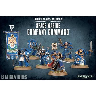 SPACE MARINES COMPANY COMMAND