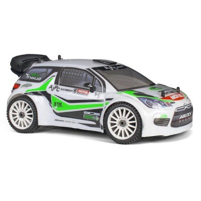COCHE RALLY DS3 RTR 1/8 MOTOR GO 21