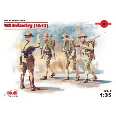 INFANTERIA U.S. ARMY (1917) - ICM 35689