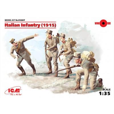 INFANTERIA ITALIANA 1915 - ICM 35687