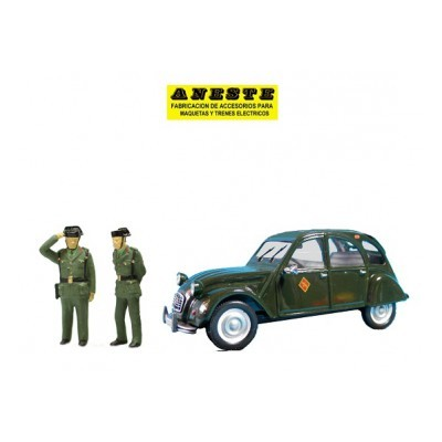 CITROEN 2CV - Guardia Civil de Trafico ANESTE 4275