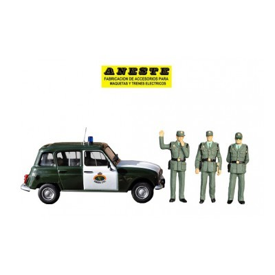 RENAULT 4L - Guardia Civil de Trafico ANESTE 4274