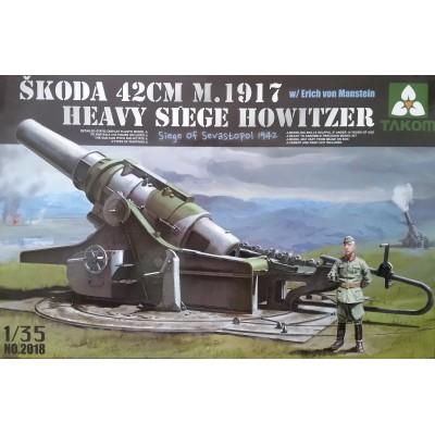 OBUS PESADO SKODA M.1917 (420 mm) TAKOM 2018