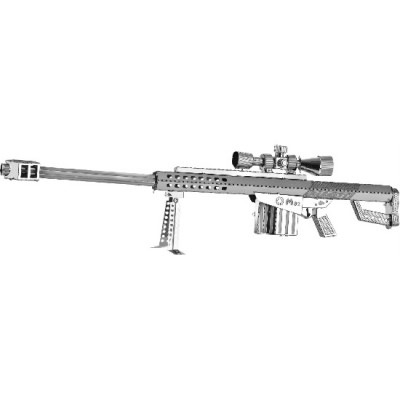 RIFLE FRANCOTIRADOR M82A1 KIT 3D METAL MODEL W11101