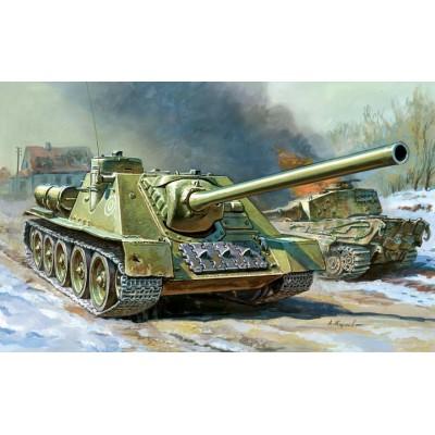CAZA CARROS SU-100 Zvezda 5044