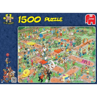 PUZZLE 1500 PIEZAS COMIC CRAZY GOLF