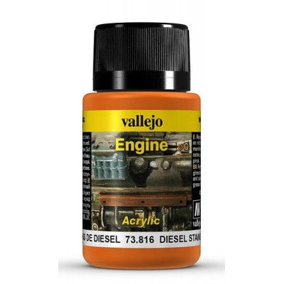 Weathering Effects: EFECTO MANCHAS DIESEL 40 ml - VALLEJO 73816