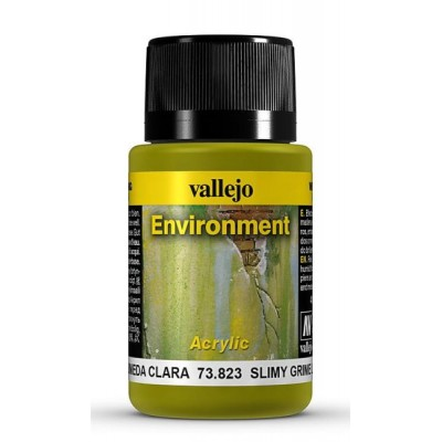 Weathering Effects: EFECTO SUCIEDAD HUMEDA CLARA 40 ml - VALLEJO 73823