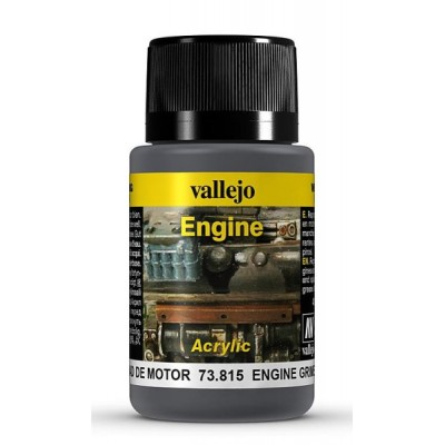 Weathering Effects: EFECTO SUCIEDAD DE MOTOR 40 ml - VALLEJO 73815