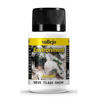 Weathering Effects: EFECTO TEXTURA NIEVE 40 ml - VALLEJO 73820