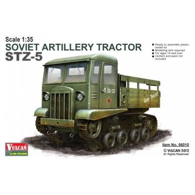 TRACTOR DE ARTILLERIA STZ-5 - Vulcan Scale Models 56010