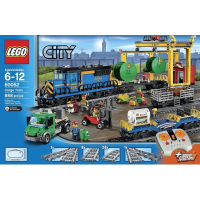 TREN DE MERCANCIAS RC LEGO 60052