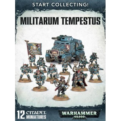 START COLLECTING MILITARUM TEMPESTUS GAMES WORKSHOP 70-54