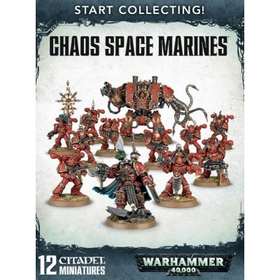 START COLLECTING CHAOS SPACE MARINES GAMES WORKSHOP 70-43