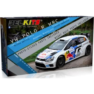 VOLKSWAGEN POLO R (WRC) 1/24 - Belkits BEL 005