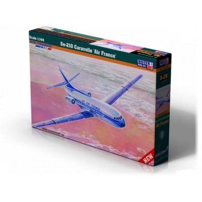 Sud-Est Aviation Se-210 CARAVELLE - AIR FRANCE - MisterCraft 040284 - ESCALA 1/144