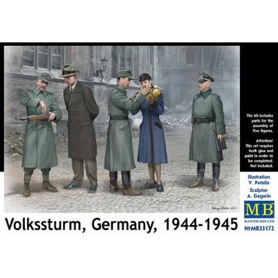 VOLKSSTURM ALEMANES 1944-1945 - Master Box 35172