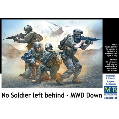 No soldier left behind - MWD Down - Master Box 35181