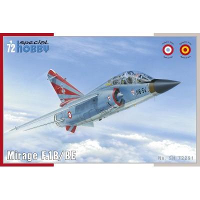DASSAULT MIRAGE F.1 B/BE C/ESP - SPECIAL HOBBY 72291