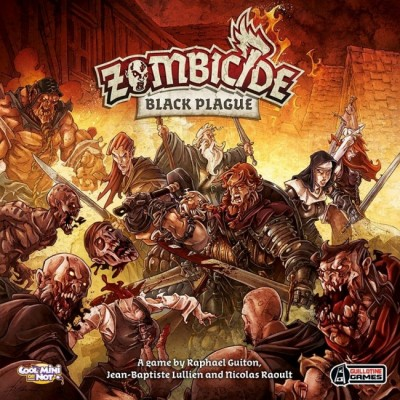 ZOMBICIDE BLACK PLAGUE -- EDGE ENTERTAIMENT BP001