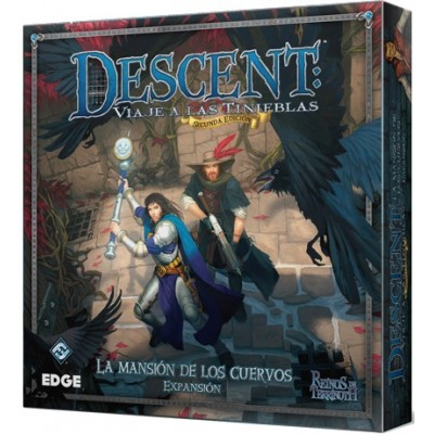 DESCENT: LA MANSION DE LOS CUERVOS - EDGE DJ21