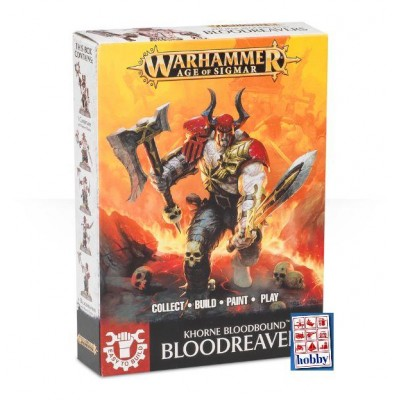 KHORNE BLOODBOUND BLOODREAVERS (5 MINIATURAS) - GAMES WORKSHOP 71-04