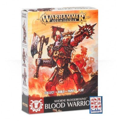 KHORNE BLOODBOUND BLOOD WARRIORS (3 MINIATURAS) - GAMES WORKSHOP 71-03