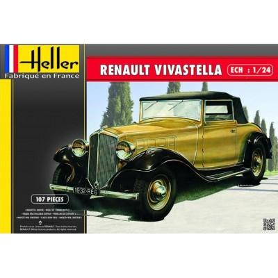 RENAULT VIVASTELLA 1/24 - Heller 80724
