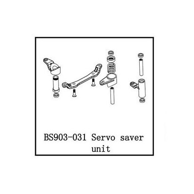 SALVA SERVOS DUAL IMPACT - MY EVO BS903-031