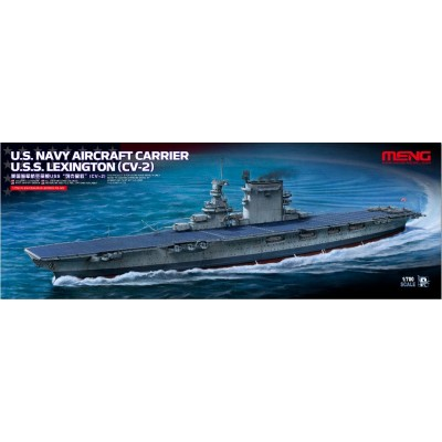 PORTAAVIONES U.S.S. LEXINGTON CV-2 1/700 - Meng Models PS002