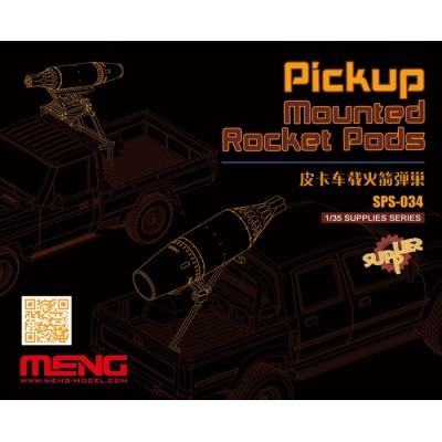 MONTAJE DE LANZACOHETES EN PICK-UP - Meng Model SPS034