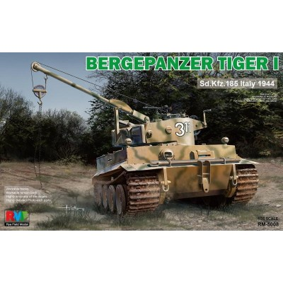 CARRO RECUPERACION Sd. Kfz. 181 BERGEPANZER TIGER I - RYE FIELD MODEL RM5008