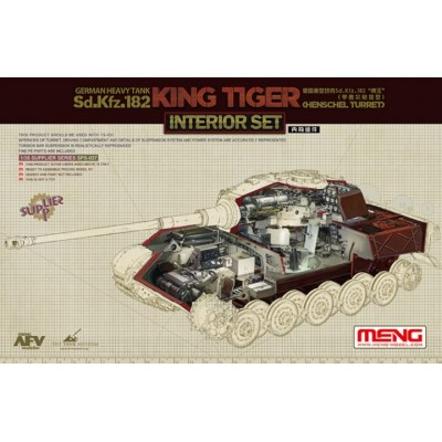 SET INTERIORES KINGTIGER SD.KFZ. 182 - MENG SPS037