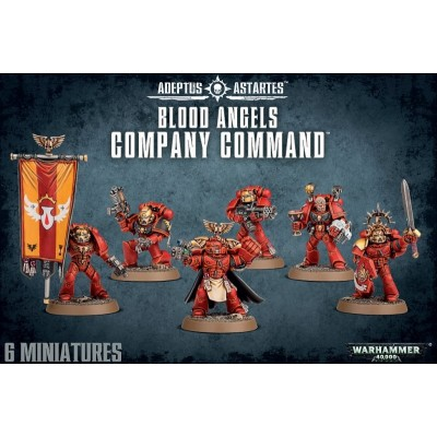 BLOOD ANGELS COMPANY COMMAND - GAMES WORKSHOP 41-21