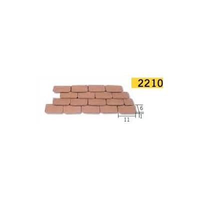 TEJADILLO ROJO (300 UNIDS) - AEDES ARS 2210