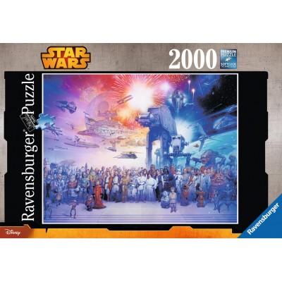 PUZZLE 2000 Pzas. STAR WARS: El universo expandido de STAR WARS - Ravensburger 16701