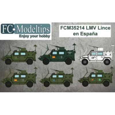 CALCAS LMV LINCE 1/35 - FC Modeltips 35214