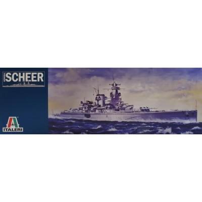 CRUCERO ADMIRAL SCHEER 1/720 - Italeri 508