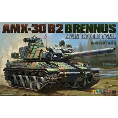 CARRO DE COMBATE AMX-30 B2 BRENNUS - Tiger Model 4604