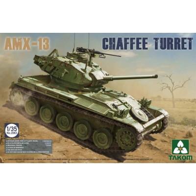 CARRO DE COMBATE AMX-13 (Torre CHAFFE) - Takom 2063