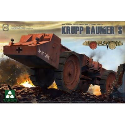 VEHICULO DESMINADOR KRUPP RAUMER S - Takom 2053