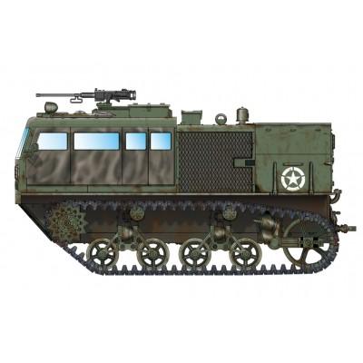 TRACTOR ARTILLERIA M-4 (Cañon AA 90 mm) - Hobby Boss 82920 - ESCALA 1/72