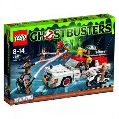 GHOSTBUSTER: ECTO-1 & 2 - Lego 75828