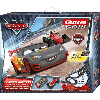 CIRCUITO CARRERA GO CAR CARBON DRIFTER - CARRERA 62385