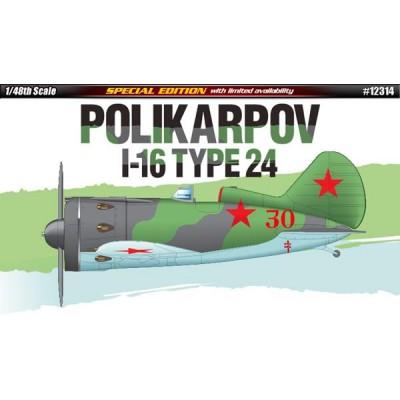 POLIKARPOV I-16 Type 24 - Academy 12314