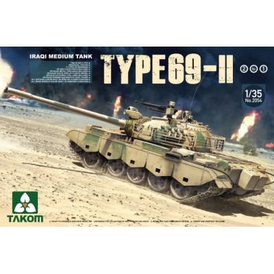 CARRO DE COMBATE Type 69-II (Irak) - Takom 2054