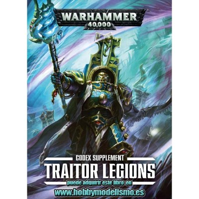 CODEX: TRAITOR LEGIONS EN ESPAÑOL - GAMES WORKSHOP 43-23