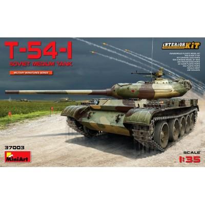 CARRO DE COMBATE T-54 1 - MiniArt 37003